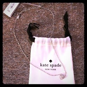 Kate Spade infinity & Beyond Necklace